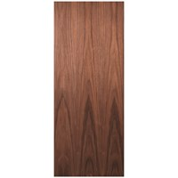 Deanta  Flush Internal Walnut Door