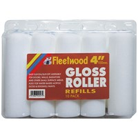 Fleetwood  4in Gloss Roller Sleeve - 10 Pack