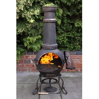 Gardeco  Toledo Cast Iron Chiminea - Large