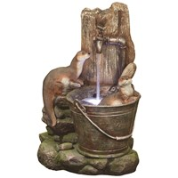 Kelkay  Playful Otters Water Feature - 56cm