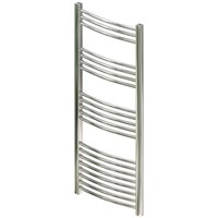 Chrome Straight Towel Warmer 1800 x 600