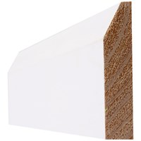 InDoors Essentials Primed Chamfered Architrave - 4in