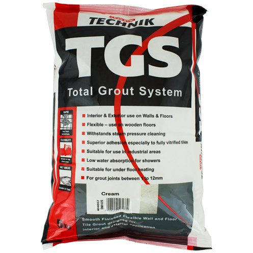 Evo-Stik Technik TGS Total Grout System 5kg - Cream