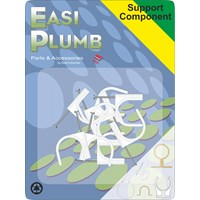 Easi Plumb  Nail 1/2in Pipe Clips - 8 Pack