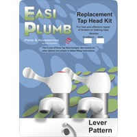 Easi Plumb  Replacement Bath Tap Head Kit Lever Pattern - 3/4in