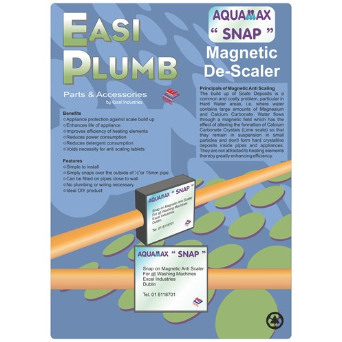 Easi Plumb  Snap On Magnetic Descaler