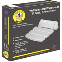 Assist  Wall Mounted Folding Shower Seat