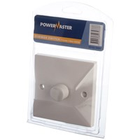 Powermaster  1 Way Dimmer Switch - 1 Gang