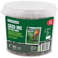 Gardman  Wild Bird Food Mixed Seed Bucket - 5kg