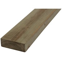 SNR  Eased Edged Treated Timber - 100 x 75mm