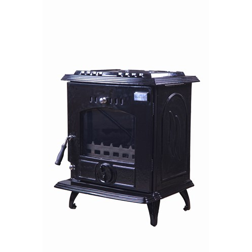 Blacksmith Bellows 11kW Boiler Stove - Black Enamel
